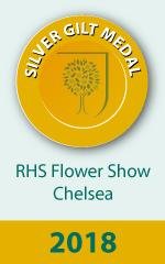 RHS Silver Gilt Medal Winner